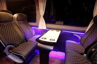 Interior Sprinter - 12/14 Seats