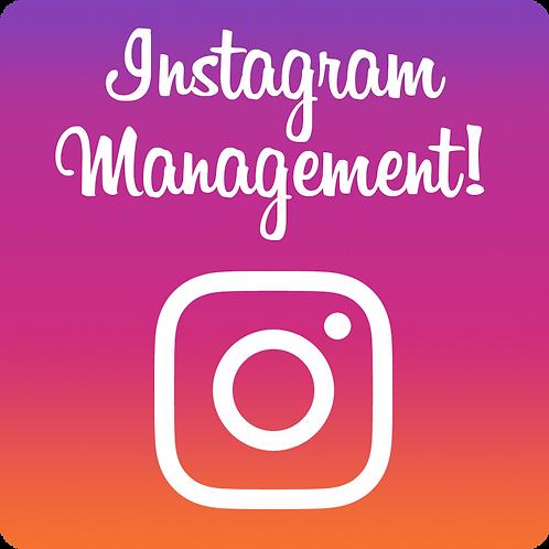 Instagram Account Management Full