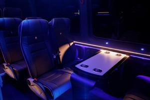 Mercedes Sprinter Interior 12/14 seats