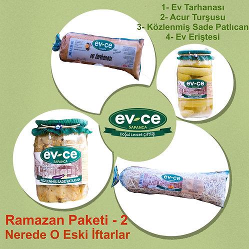 Ramazan Paketi 2 - Nerede O Eski İftarlar