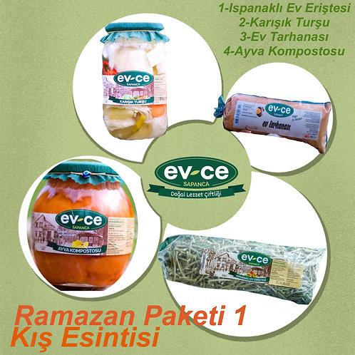 Ramazan Paketi-1 Kış Esintisi