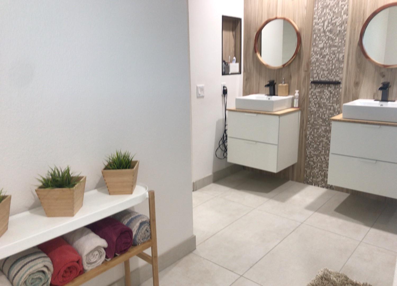 Deep clean bathroom