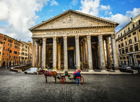 The Pantheon stands out from all other ancient Roman structures for one reason: it is still standing