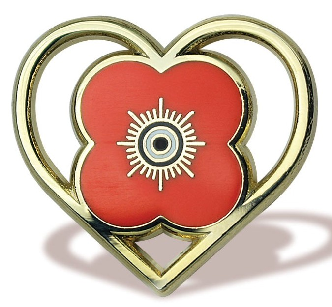Poppy Scotland Pin Badge
