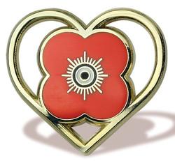 Poppy Scotland Pin Badge