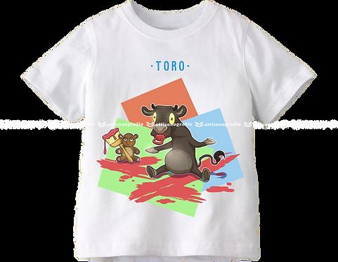 T-Shirt Segno Zodiacale Toro