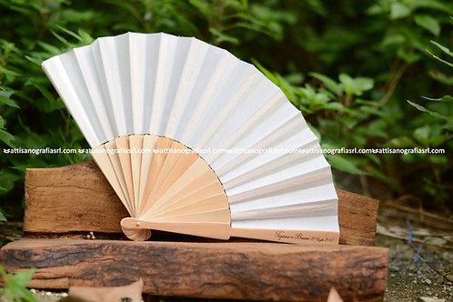 Ventagli personalizzati legno (50 pz)