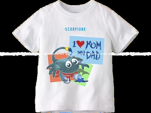 T-Shirt Segno Zodiacale Scorpione