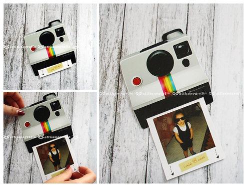 Invito Polaroid (1 set da 10 pezzi)