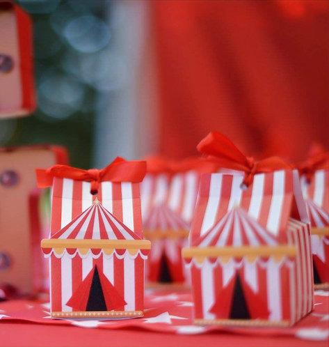 Circus Box (1 set di 10 pezzi)