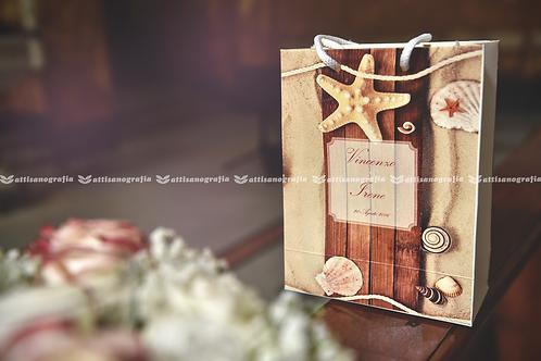 Wedding Bag Tema Mare (1 set da 20 pezzi)