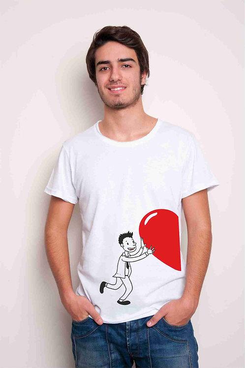 2 T-shirt Heart coppia