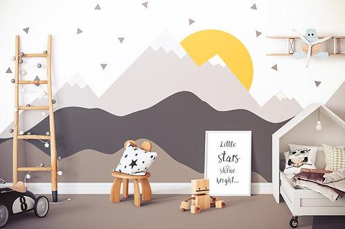 Carta da Parati Little Mountain