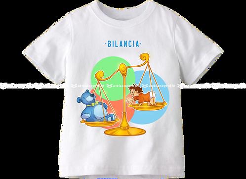 T-Shirt Segno Zodiacale Bilancia