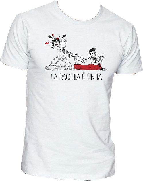 T-shirt La pacchia è finita (Videogames)