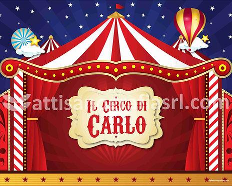 Circus Stampa in carta