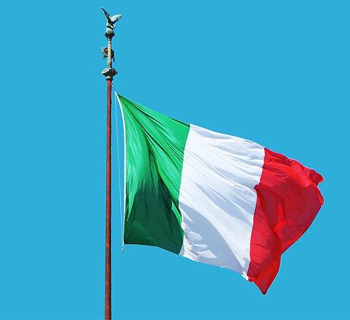 Bandiera Italia 150x220 cm
