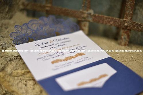 Art. 018 Invito glicine con tasca (50pz)