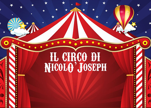 Backdrop tema Circo