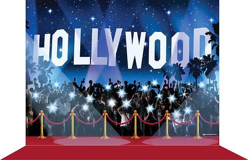 Backdrop tema Hollywood