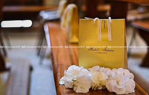 Wedding Bag Oro (1 set da 30 pezzi)