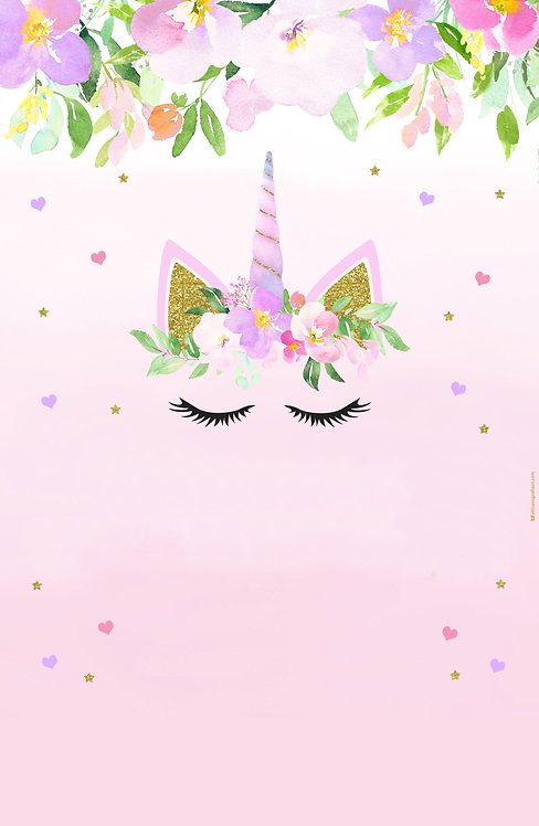 Backdrop tema Unicorno