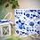 Thumbnail: Art. 005 Fantasia Fiori Blu (1 set da 20 pezzi)