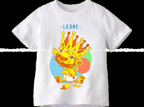T-Shirt Segno Zodiacale Leone