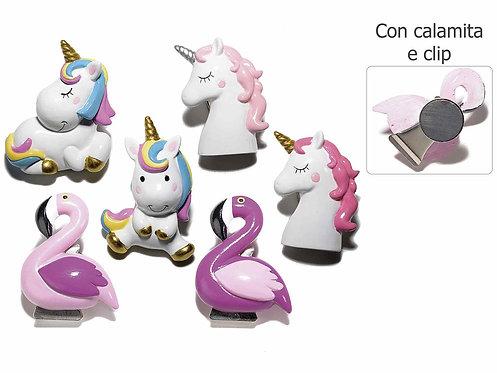 Unicorni/Fenicotteri Magnetici (1 set di 12 pezzi)