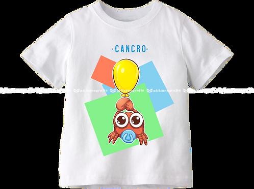 T-Shirt Segno Zodiacale Cancro