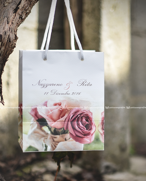 Wedding Bag Rose Cappuccino (1 set da 30 pezzi)