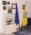 Art. 004 Bandiera Italia Euopa frangiate