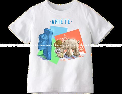T-Shirt Segno Zodiacale Ariete