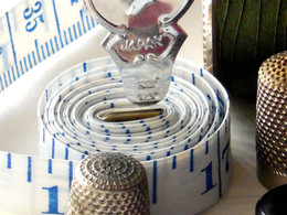 Needle threader, Thimble & Tape