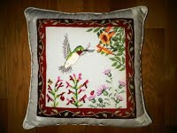 Needlepoint Pillow by Edie W