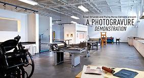 Photogravure Demonstration