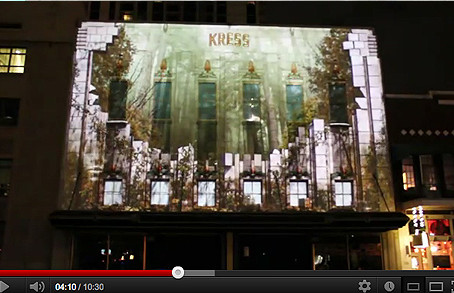 Snap! 2012 Projection Mapping