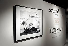 Roger Ballen Gallery Opening