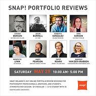 Snap! 2021 Photography Portfolio Reviews
