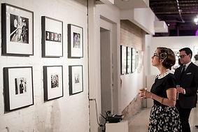 Duane Michals Gallery Opening
