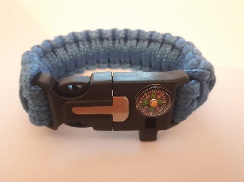 Survival Bracelet (Blue)