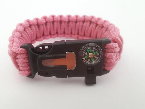 Survival Bracelet (Pink)