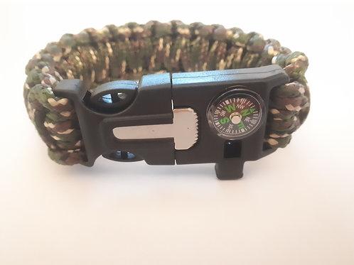 Survival Bracelet (Camo)