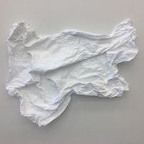 2018, cloth, plaster