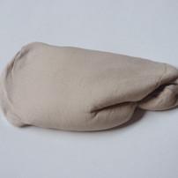 untitled, 2020, stocking, modeling paste