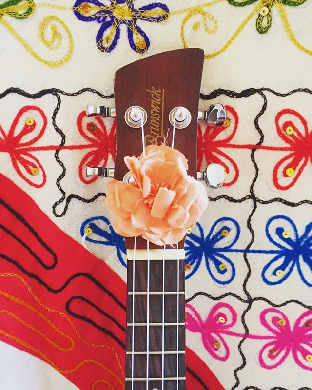 Exciting planning happening today for a new adventure!! #ukulele