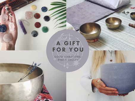 Give the gift of relaxation, peace & healing this Christmas