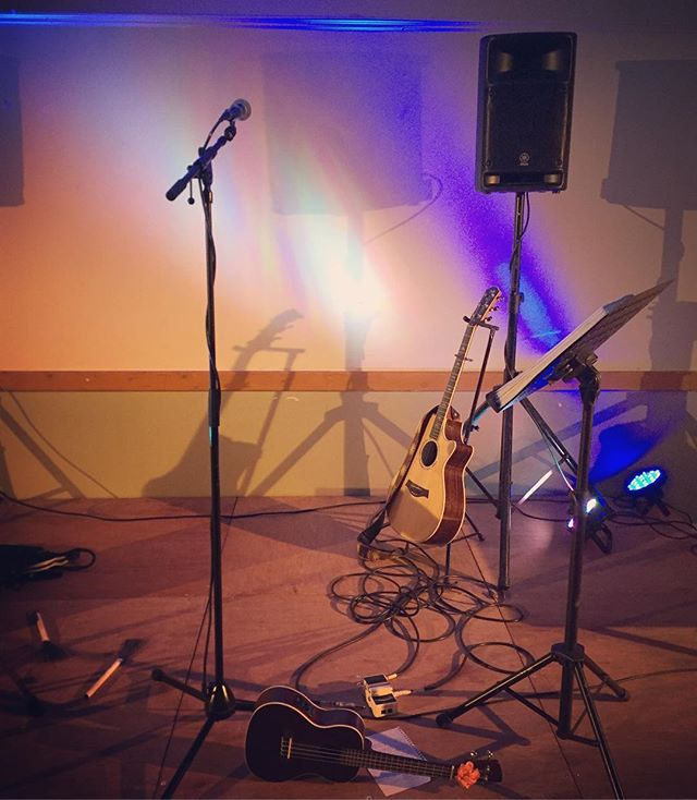 On stage from 7