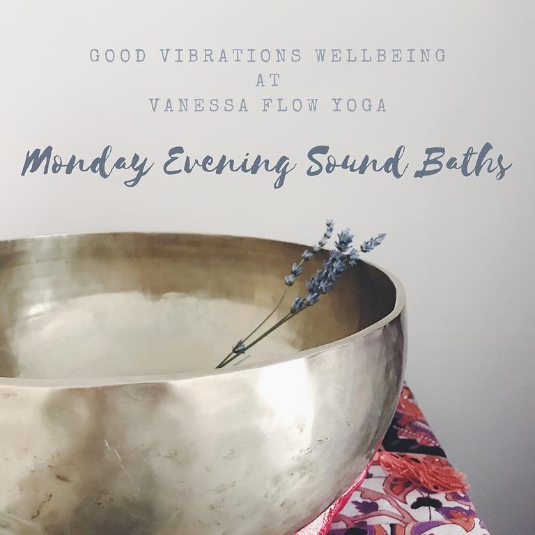 Monday Evening Sound Bath at Vanessa Flow Yoga