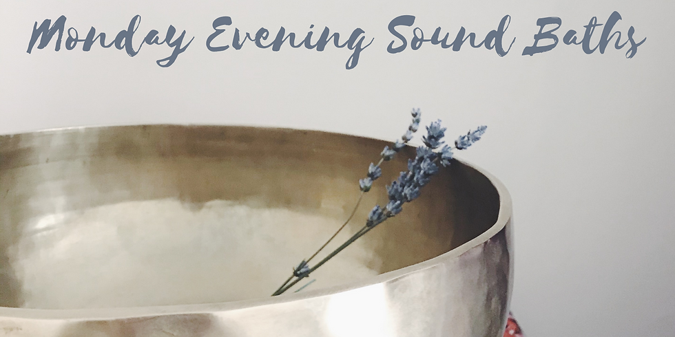 Monday Evening Sound Bath at Vanessa Flow Yoga